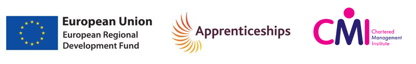 Chartered Manager Degree Apprenticeship logos