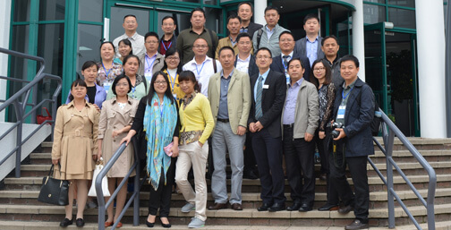 Visitors from Hunan Vocational college