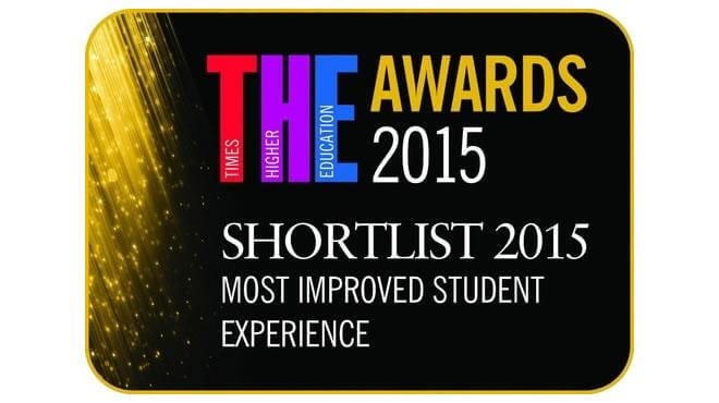 derby uni most improved student experience