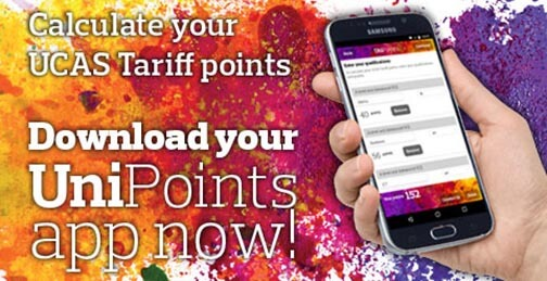 Ad for the unipoints app