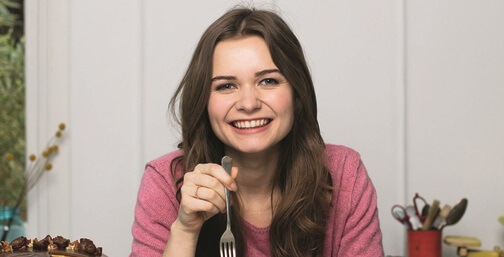 Martha Collison - Great British Bakeoff's youngest contestant