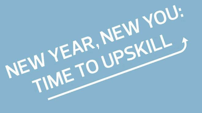 New Year time to upskill image