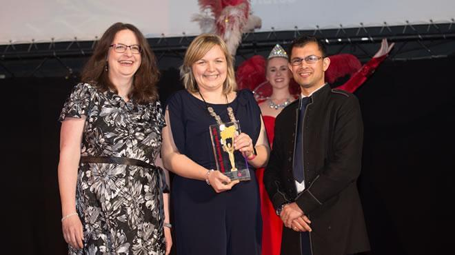 University of Derby getting crowned University of the Year - 2018