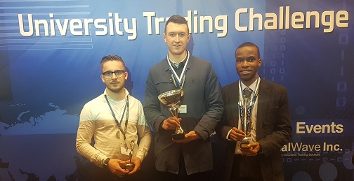 Economic students awarded three of the top accolades at University trading challenge