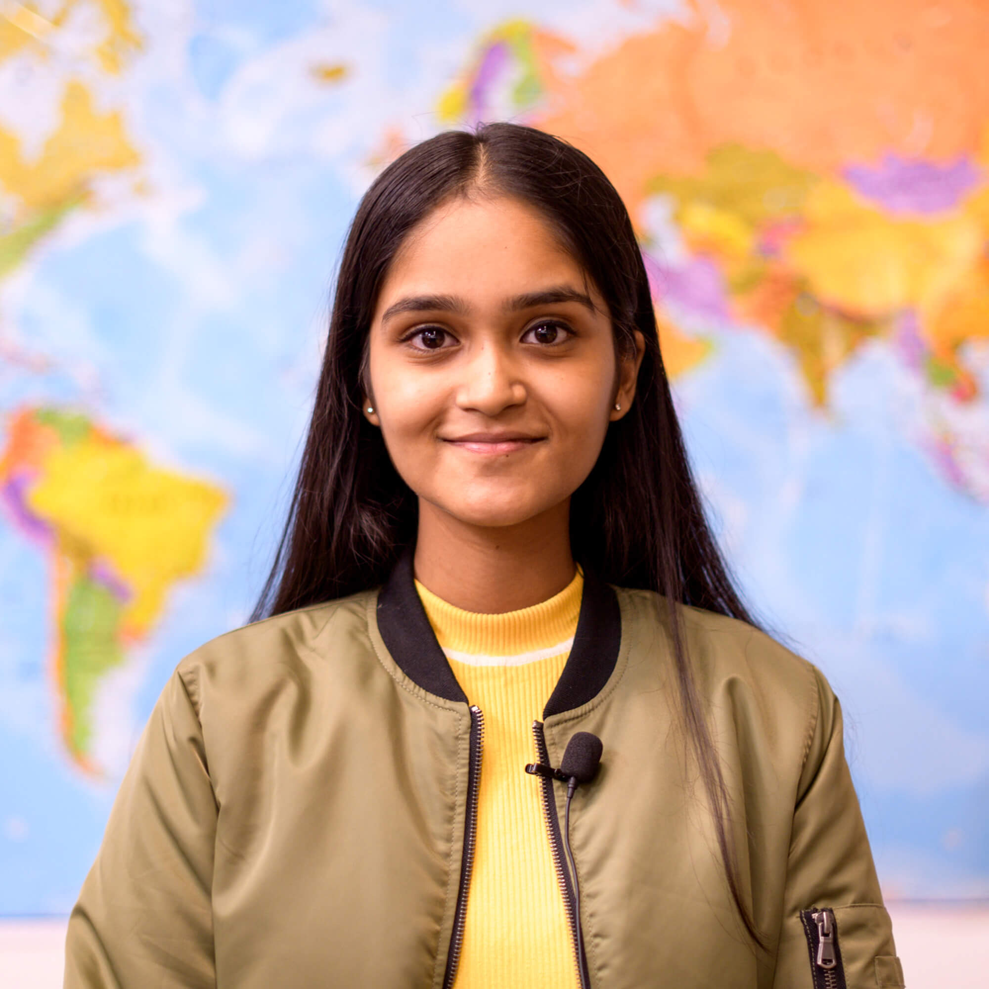 A photo of international student Mohika Shankar