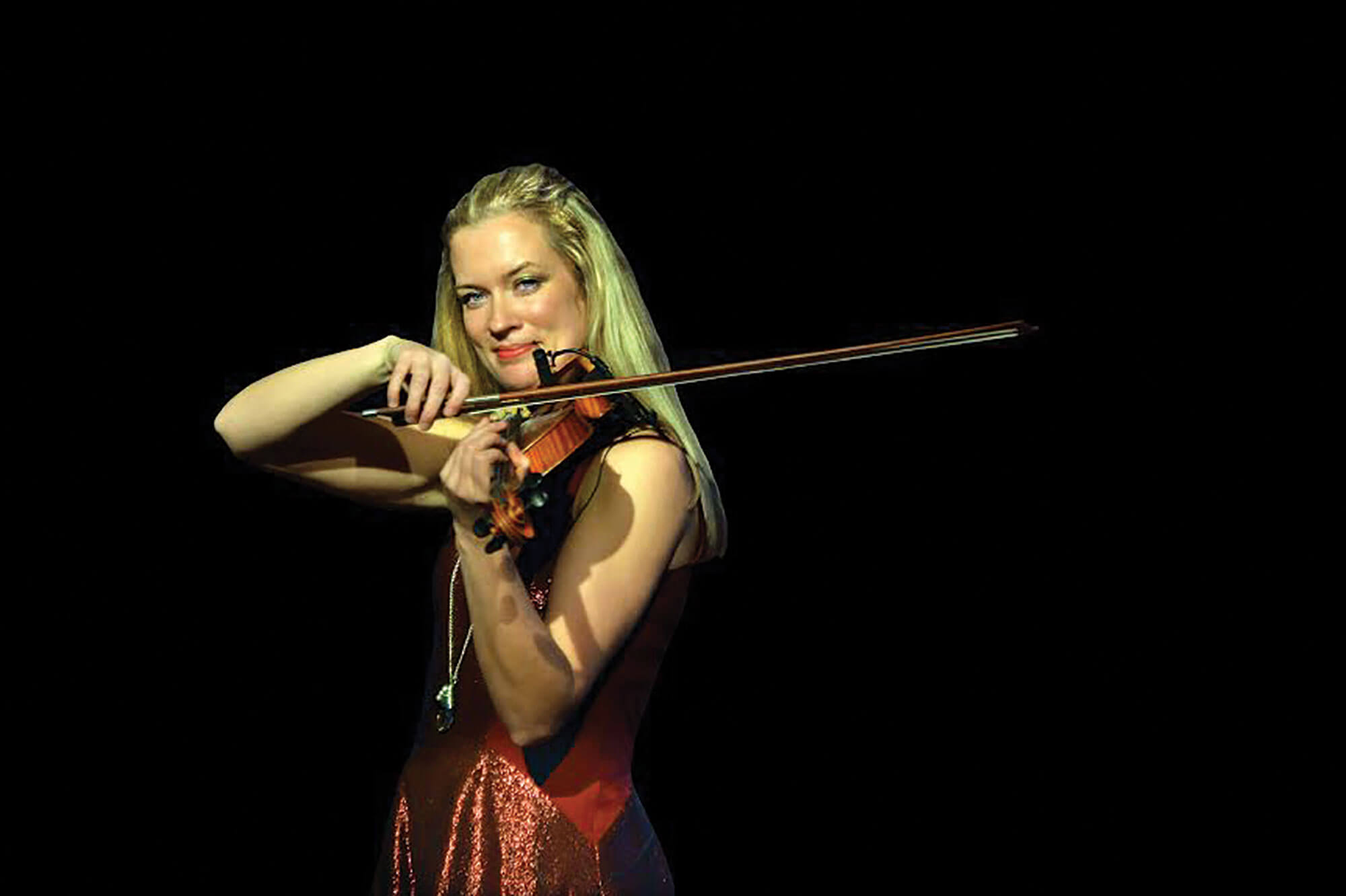 Lizzie Ball - violinist, vocalist, educator, and concert producer