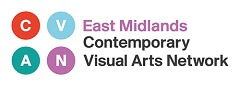 East Midlands Contemporary Visual Arts Network logo