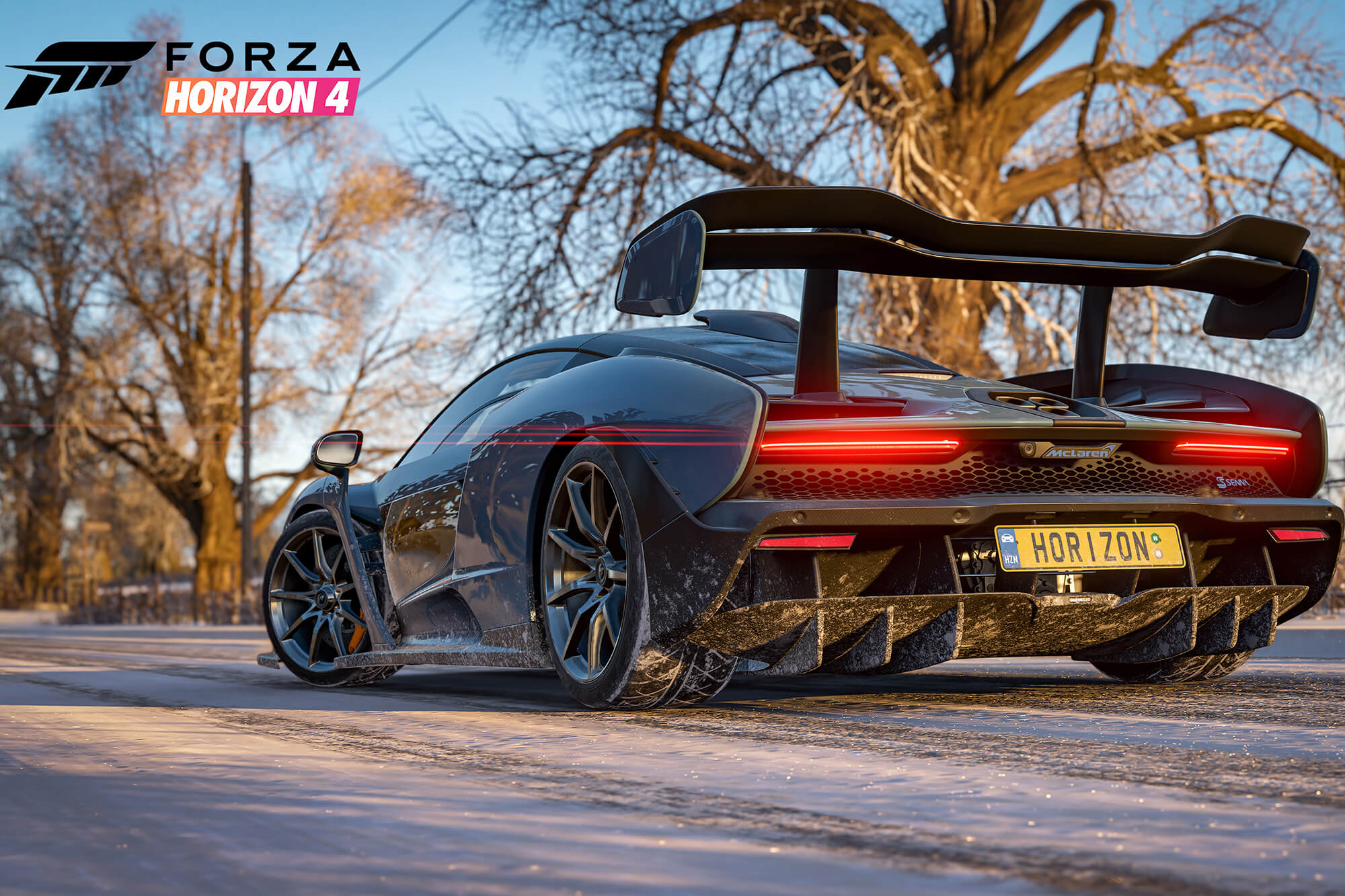 Winter in Forza Horizon 4 Xbox game