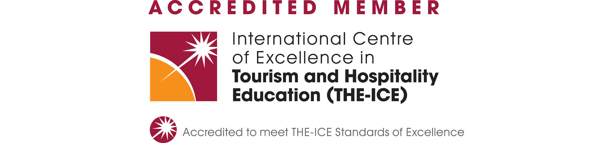 International Centre of Excellence in Tourism and Hospitality Logo