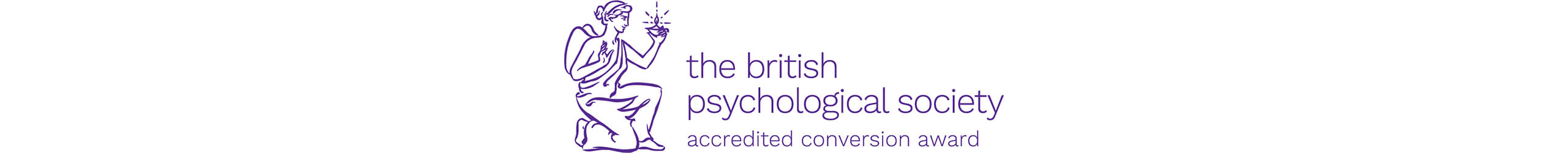 The British Psychological Society Accredited Conversion Award logo
