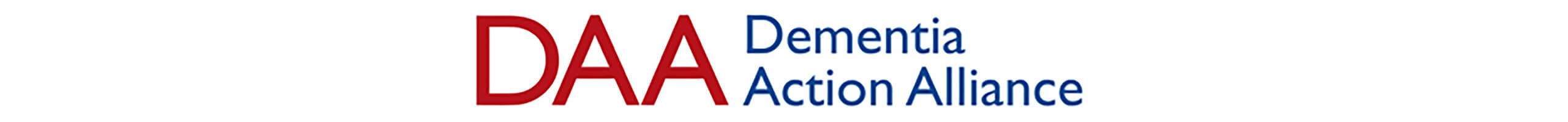Dementia Action Alliance (DAA) logo